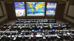 1055469 03/02/2012 The Mission Control Center in Korolyov. Sergey Mamontov/RIA Novosti