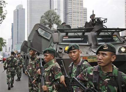 Indonesia Explosion
